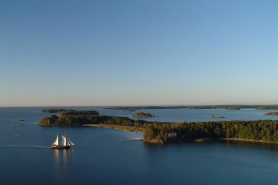 Inga-Lill purjehtii lokakuun puoliväliin saakka.